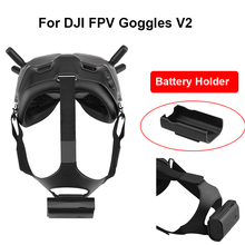 Dji fpvゴーグル用バッテリーホルダー,バッテリー収納カバー,防塵レンズプロテクター