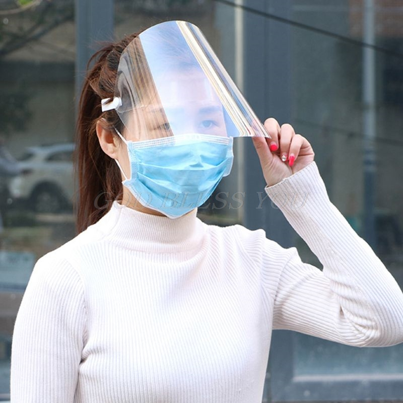 Protective Adjustable Anti-saliva Dust-proof Full Face Cover Mask Visor Shield
