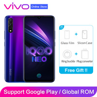 Vivo iqoo Neo Global ROM 3 Cameras 2340x1080P 6.38 Screen 2 SIM Card Fingerprint Face ID Snapdragon 845 Octa Core Smartphone