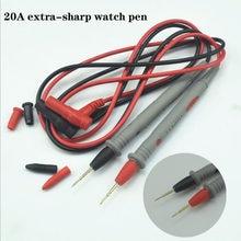 Sonde multimètre numérique, ultra-fin 1000v 20a, haute précision vc890c + multimètre numérique