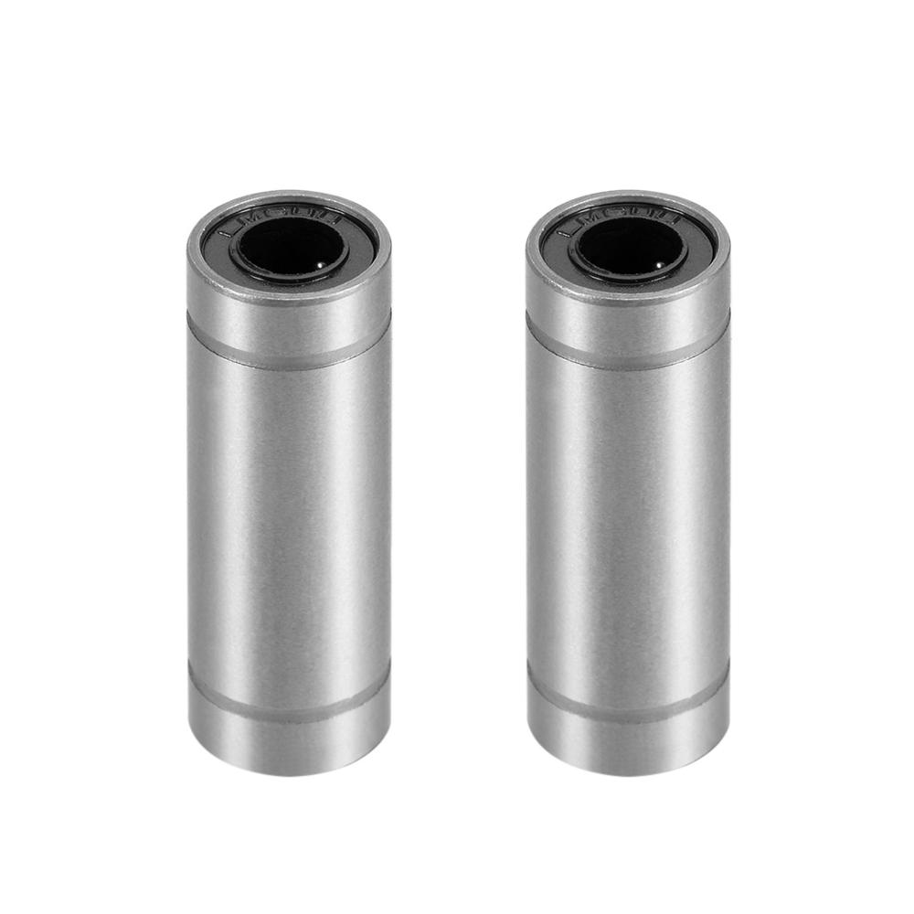 Uxcell New Hot Extra Long Linear Ball Bearing Linear Motion Ball Bearing Bushing For 3D Printer CNC Router LM6UU LM8UU LM12UU