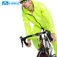 INBIKE Waterproof Cycling Jersey Raincoat Men Women Cycling Clothing MTB Riding Motocross Bike Jersey Bicycle ciclismo Wind Coat