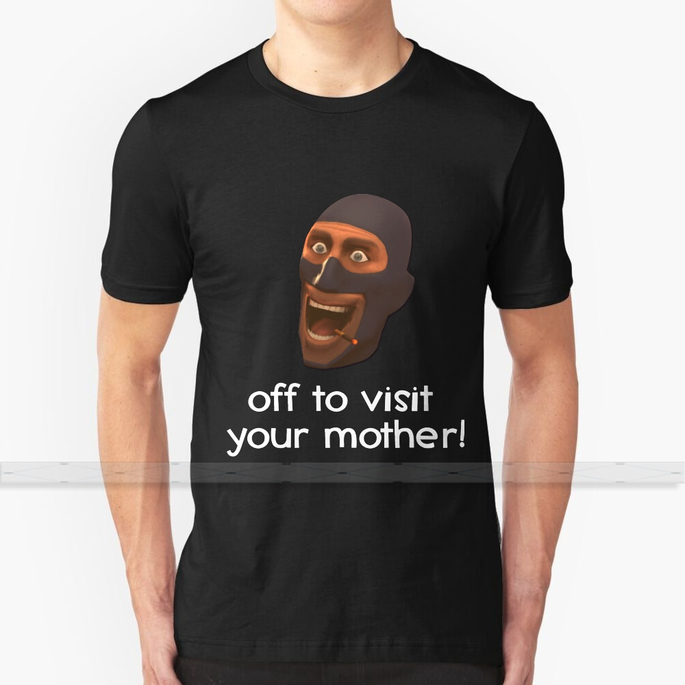 Off To Visit Your Mother - <font><b>Team</b></font> <font><b>Fortress</b></font> <font><b>2</b></font> For Men Women T <font><b>Shirt</b></font> Tops Summer Cotton T - <font><b>Shirts</b></font> Big Size S - 6XL <font><b>Team</b></font> <font><b>Fortress</b></font> <font><b>2</b></font> image