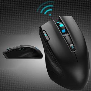Redragon M908 12400 DPI компьютерная программируемая кнопка RGB Светодиодный лазер высокой точности игровая мышь беспроводная мышь