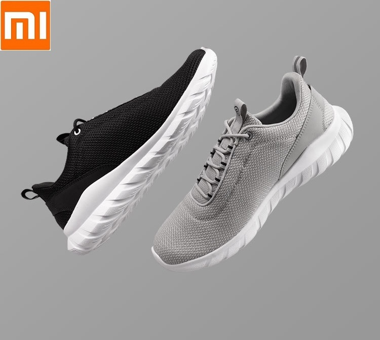 Xiaomi FREETIE Man กีฬารองเท้าน้ำหนักเบาระบายอากาศ Elastic ถักรองเท้า Breathable สดชื่น City รองเท้าวิ่ง-ใน เซนเซอร์ร่างกายมนุษย์อัจฉริยะ จาก การปรับปรุงบ้าน บน AliExpress - 11.11_สิบเอ็ด สิบเอ็ดวันคนโสด 1