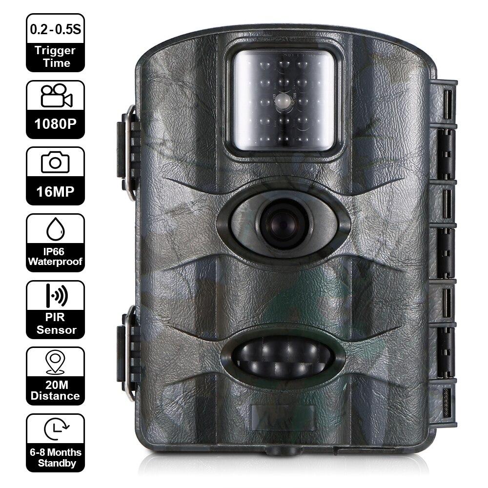 ZREN ZR300 caméra de chasse à la faune capteur PIR détection de mouvement Photo pièges Vision nocturne scoutisme Camara de caza scoutguard