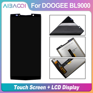 Image 2 - AiBaoQi New Original 5.99 inch Touch Screen+2160x1080 LCD Display Assembly Replacement For Doogee BL9000 Android 8.1 Phone