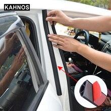 Uniwersalny gumowy pasek uszczelniający do drzwi samochodowych Epdm izolacja akustyczna uszczelki do centralnego zabezpieczenia słupka B Auto uszczelniacz drzwi 2PS