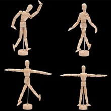 4.5 Drawing Model Wooden Human Male Manikin Jointed Mannequin Puppet