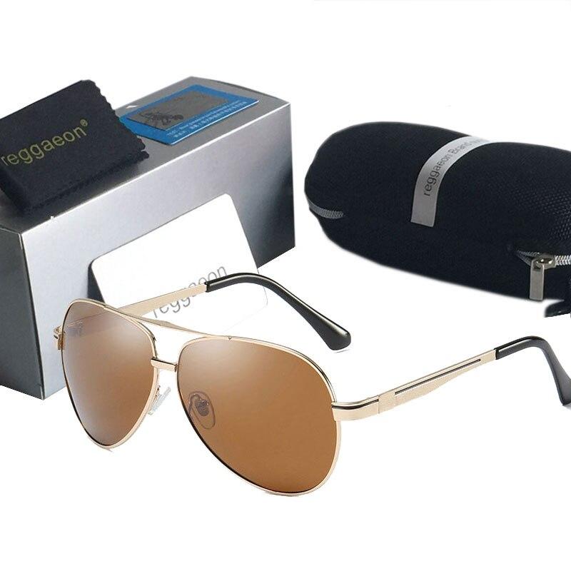 Hohe qualität Polarisierte sonnenbrille strahl Fahren pilot Gläser Oculos De UV400 Männer frauen Brillen lLarge rahmen Doppel