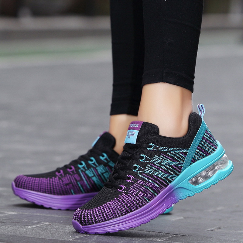DIHOPE New Platform Sneakers Shoes Breathable Casual Shoes Woman Fashion Height Increasing Ladies Shoes Plus Size 35-42 2020