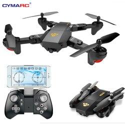 Складной Дрон VISUO Xs809HW Xs809W с камерой HD, 2 МП, широкий угол обзора, Wi-Fi, FPV, контроль высоты, Радиоуправляемый квадрокоптер, Вертолет VS Дрон H47