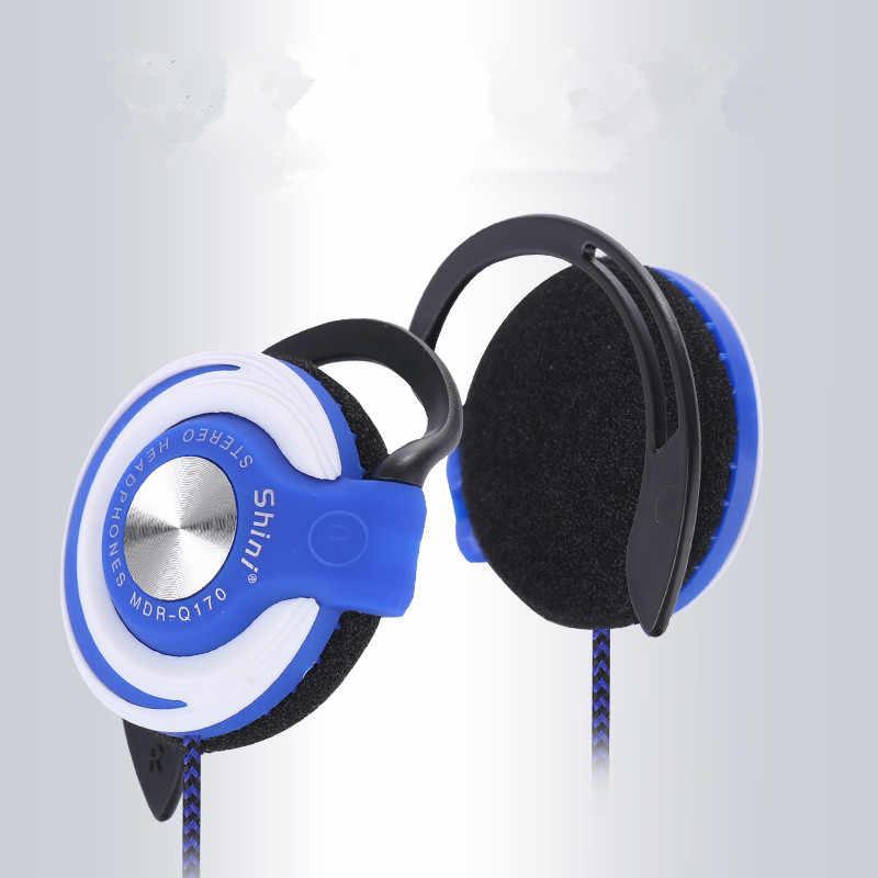 אופנה ספורט אוזניות 3.5mm אוזניות אוזן וו בס אוזניות EarbudsFor Mp3 נגן מחשב נייד טלפון לxiaomi iPhone