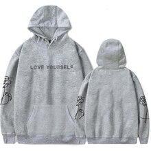 New Bangtan Boy Korean Style Hoody Sweatshirts Wome