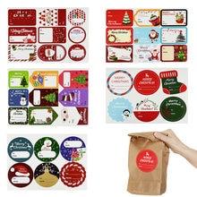 5 листов/партия с Рождеством конфеты мешок подарочная коробка