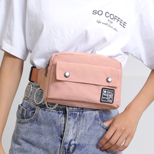 Piler Women Waist Pack Female Chest Pouch Oxford Nylon Bag Waterproof Phone Envelope Purses Ladies Belt Small Shoulder