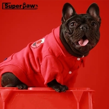 Fashion Dog  Jacket Pet Winter Warm Coat For Small Medium Dogs Schnauzer French Bulldog Pug Teddy Cat Hoodie Dropshipping GZC27