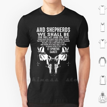 Et Spiritus Sancti T Shirt Big Size Shepherds We Shall Thee Lord Power Hath Descended Forth Thy Hand Our Feet May Swiftly Carry image