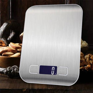 Kitchen Weight Measuring-Tool Balance Grams-Scales Food-Diet Cuisine Postal Digital Stainless-Steel