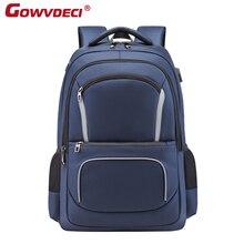 New Laptop Usb Backpack School Bag Rucksack Anti Theft Men Backbag Travel Daypacks Male Leisure Backpack
