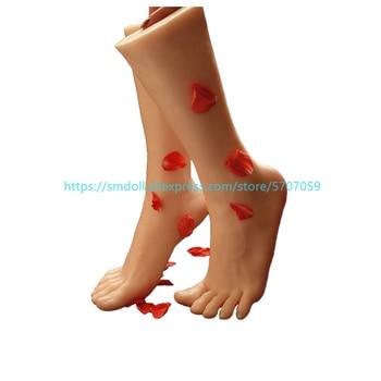Pies fetiche juguetes realistas y hermosos modelos sexy, silicona modelo de pie muestra pie fetiche pies maniquí pies