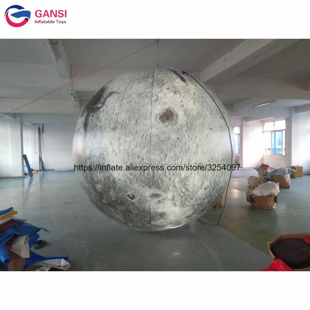Горячая Распродажа; надувной шар игрушка лунный шар надувные Светильники луна для украшения фестиваля