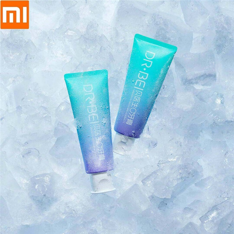 Xiaomi New Dr. Bei 0 Anti-mite Toothpaste 100g Reinforced Tooth Hardness Long-lasting Icy Mouth Protecting Tooth Health Clean