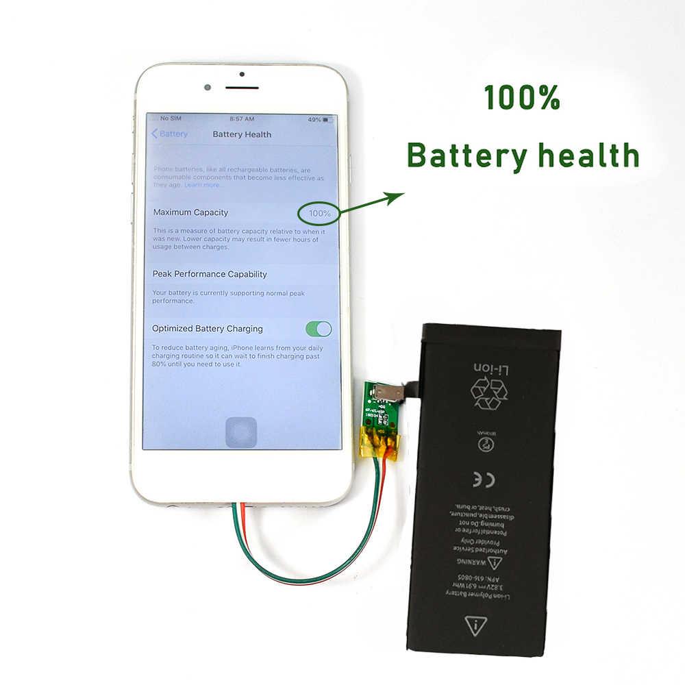 חדש 0 מחזור חותם OEM קיבולת גבוהה טלפון נייד סוללה עבור iphone 3 3S 4 4S 5 5S 5C SE 6 6S 7 8 בתוספת X XR XS מקסימום סוללה