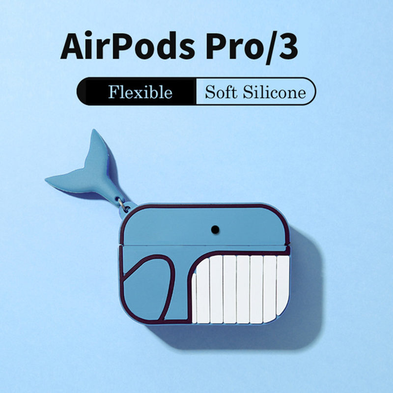 LoveRony 3D Silicone Case for AirPods Pro 17