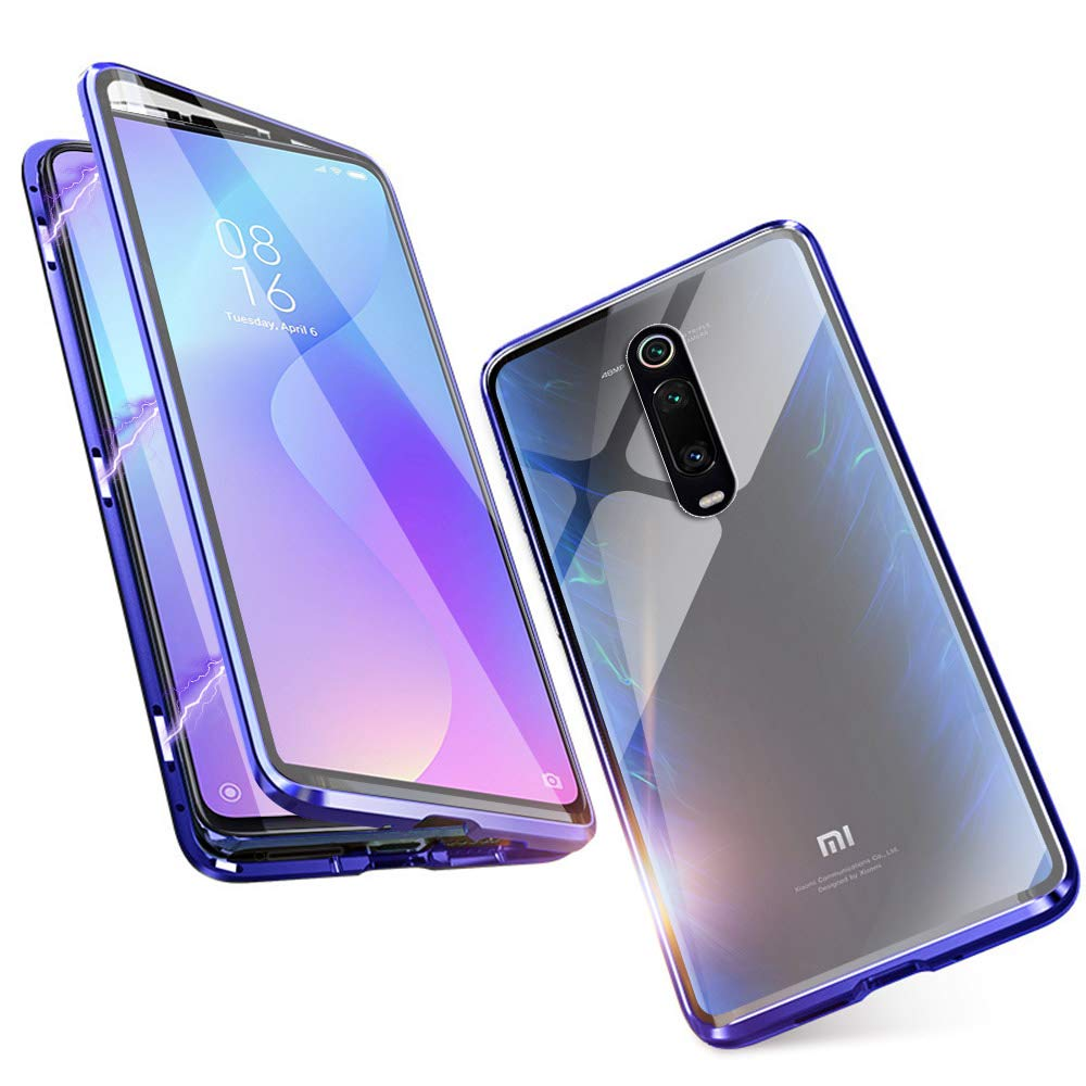 Magnetic Case For Xiaomi Redmi Note 8 7 Pro Double Side Tempered Glass Metal Case For Xiaomi Mi A3 Lite Note 10 Pro 9T 9 SE Cc9e