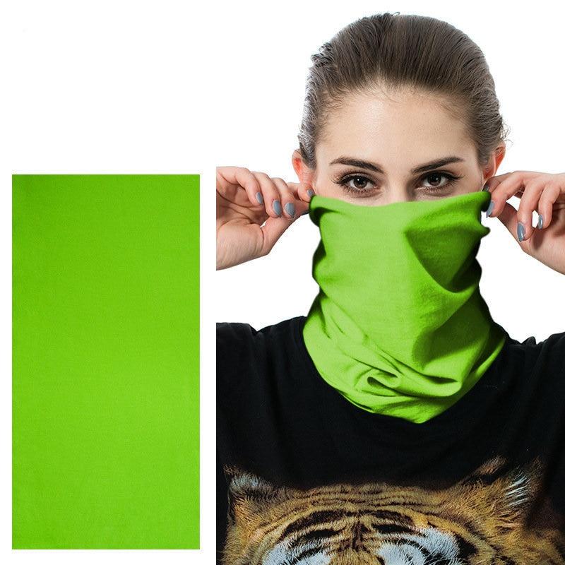 Accept Custom Logo Printing Buffe Cycling Bandana Outdoor Riding Face Shield Women Men Sports Mask Female Male Neck Head Scarf