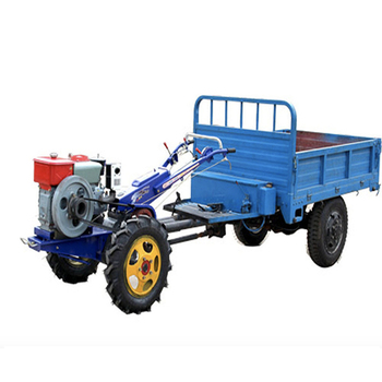 Trailer Cultivator Agricultural Machinery Trailer Walking Tractor Rotary Tiller farm machine agricultural tractor walking tractor 15hp rotary tiller tractor single cylinder diesel engine agricultural small tractor