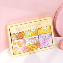 Yoofun 300 pçs/caixa 6 projetos adesivos bonitos para bala journaling scrapbooking kawaii criativo decorativo papelaria adesivos