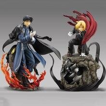 Edward Elric Fullmetal Alchemist Alphonse Elric Action Figureญี่ปุ่นอะนิเมะผู้ใหญ่PVC Action Figuresของเล่นอะนิเมะตัวเลขของเล่น
