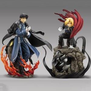 Image 1 - Edward Elric Fullmetal alchimiste Alphonse Elric figurine japonais Anime PVC adulte figurines jouets figurines danime jouet