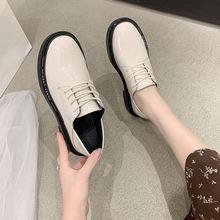 2020 новинка мягкие кожаные ботинки женская обувь на плоской