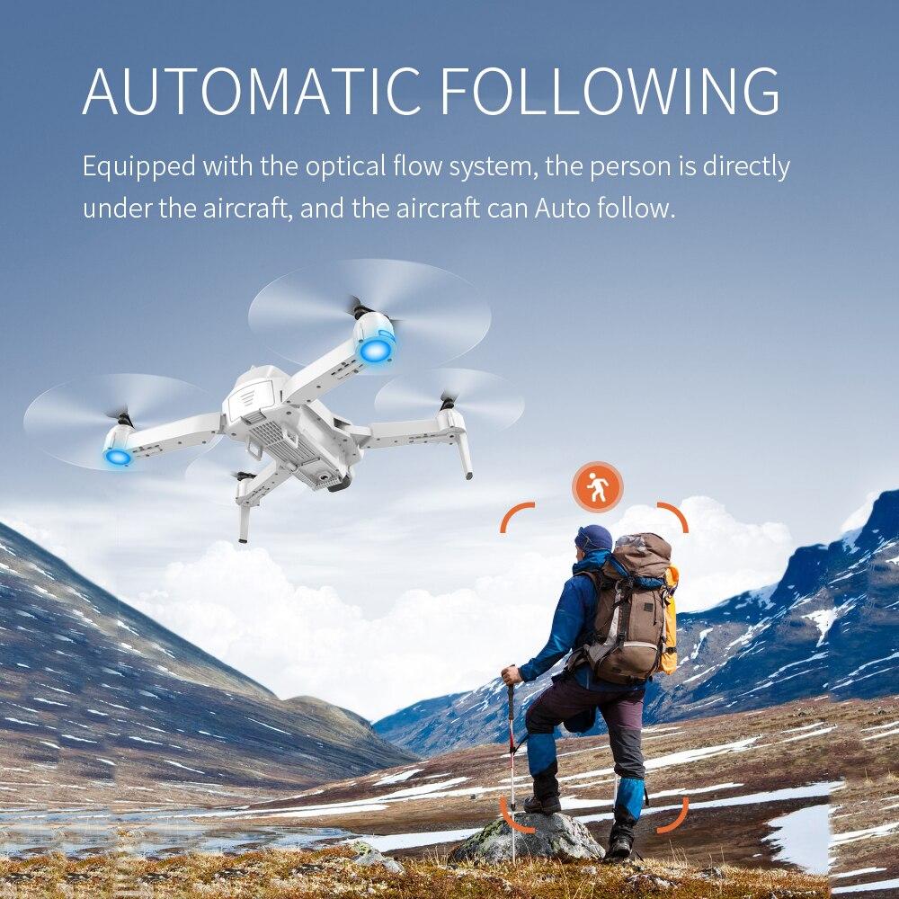 Drone SHAREFUNBAY S162 GPS 4K HD 1080P 5G WIFI FPV vol quadrirotor 20 minutes distance RC 500m dron drone de retour intelligent pro - 4