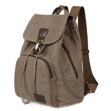 Retro Tide Girls Outdoor Canvas Backpack Bag Fashion