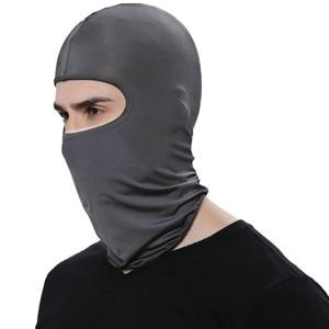 Image 3 - Balaclava Face Mask Motorcycle Tactical Face Shield Breathable Mascara Ski Mask Cagoule Visage Full Face Mask Gangster Mask