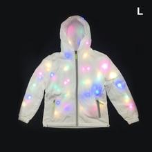 Светится в темноте пальто для Хэллоуина Плюс Размер Мужчины Женщины Водонепроницаемый светодиодный светящийся жакет с капюшоном для вечеринок, реквизит для фото. Рождество 4
