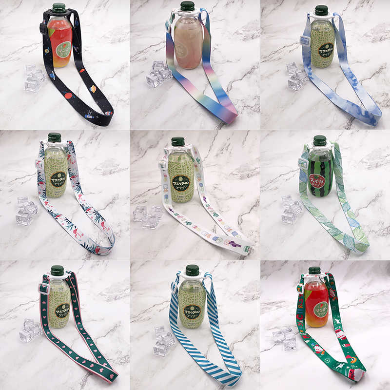 Portable Travel Accessories Suitcase Animal Water Bottle Buckle Lanyard Back Belt Luggage Bag Organizer Packing Storage Security