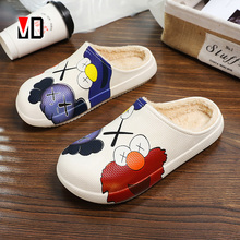 Men Slipper Shoes Home-Clogs Winter High-Quality House Waterproof Unisex Women New Mo