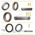 Neco Lager Fiets Headset voor Giant OD2 XTC8 39 41 41.8 43.8 46.8 46.9 47 6 6.5 7 8 30 45 graden hoek road