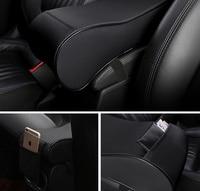 Universal Car Center Armrests Console Arm Rest Seat Pad for Volkswagen VW Tiguan Beetle Polo Bora T ROC JETTA T5|Armrests| |  -