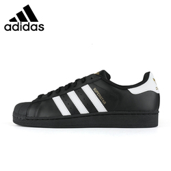 Adidas Superstar Mens Skateboarding Shoes Classic Shell-toes Anti-slip Sports Sneakers B27140 C77124