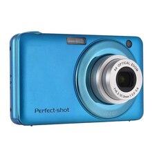 24MP портативный оптический зум Запись видео компактное фото подарки Высокое разрешение цифровая камера красочная анти-встряхивание распознавание лица