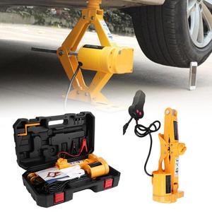 12VDC Automotive Car Electric Jack Lifting SUV Van Garage Emergency Equipment Electric Hydraulic Jack Car Repair Tool 2/3Ton