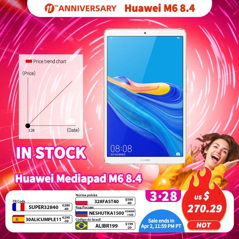 Original Huawei Mediapad M6 8.4 inch tablet PC Kirin980 Octa Core Android 9.0 6100mAh Huawei Gaming tablet pc Google Play 1