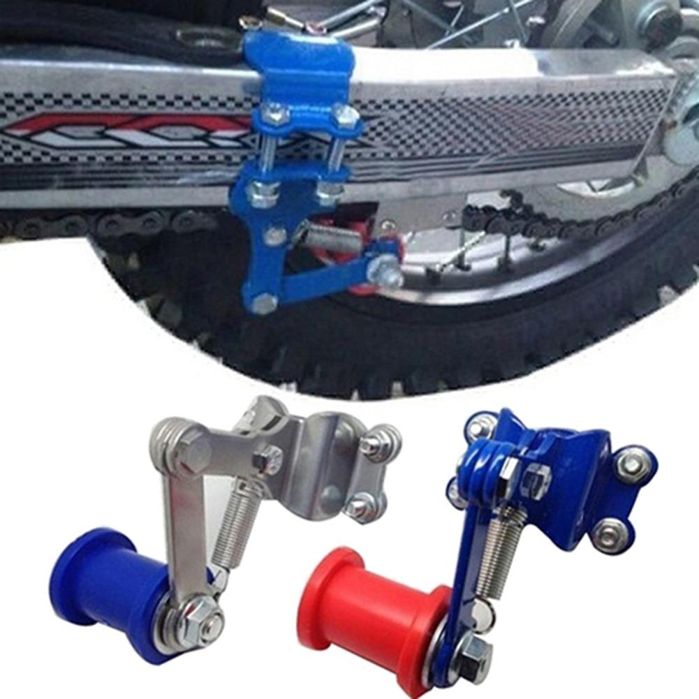 Universal Portable Metal Motorcycle Motocross Chain Adjuster Modified Tensioner Regulator Automatic Adjuster Chain Roller Tools