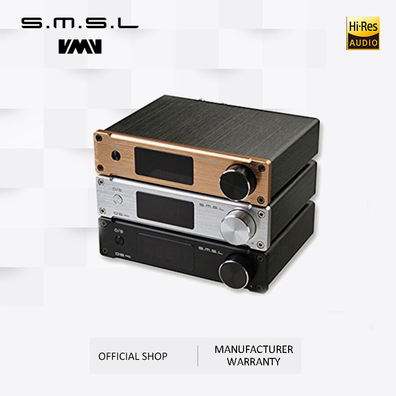 SMSL Q5 Pro Hi-Fi <font><b>Audio</b></font> Digital Power <font><b>Amplifier</b></font> 2x45W Control USB COAXIAL <font><b>OPTICAL</b></font> <font><b>Input</b></font> 192KHZ 44Bit Color Black Silver Gold image